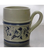 Williamsburg Pottery 1997 Hand Painted Mug Cup Marked W W  - $25.00