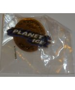 """PLANET ICE 1995 Inaugural Year PIN 1"""", mint in package - $19.99"""