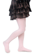 NEW Yelete Childrens Solid Color Cotton Tights Hosiery Pantyhose Stockings Sz S - $12.99