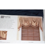 "IN SILVER SAGE Traditional Scalloped Cascading Empire Valance ""Supreme"" ... - $22.99"