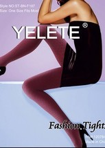 NEW Yelete Womens Fish Scales Pattern Nylon Tights Hosiery Pantyhose Stockings - $17.99