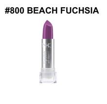NICKA K NEW YORK NK LIPSTICK #800 BEACH FUCHSIA SEMI MATTE FINISH - $1.48