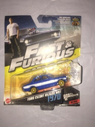 Fast And Furious Fast & Furious 6 -  1970 Ford Escort Rs1600 MK1 Vehicle Toy Car