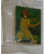 """TENNIS FAN tennis player PIN 1.5"""", mint in package - $19.99"""