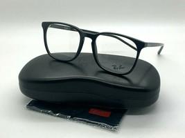 NEW Ray-Ban OPTICAL RB 5387F 2000 SHINY BLACK EYEGLASSES FRAME 54-18-150MM - $77.57