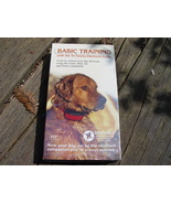 Basic Training VHS with the Tri-Tronics Electronic Collar - $10.00
