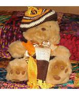 Plush Honey Teddy Bear with Custom Outfit - $9.50