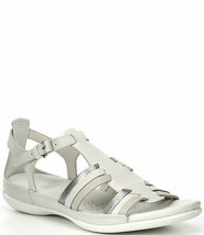 Ecco Women's Flash Sandal White Shadow-White 10-10.5 US 41 EUR - $70.08