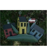 Yard Stake, Metal, Folk Art House on the Hill - $15.00
