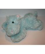 "Kellytoy HIPPO 12"" Stuffed Blue Pink Ears Feet Plush Soft Toy Floppy Lay... - $120.93"