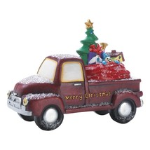 #10018585 Light Up Red Merry Christmas Toy Delivery Truck - $57.90