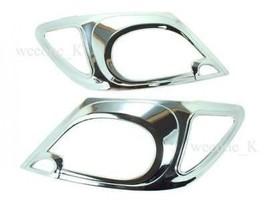 CHROME HEADLIGHT COVER TRIM FOR TOYOTA HILUX SR5 VIGO MK6 PICKUP 2005 - ... - $50.15