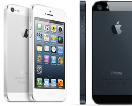 Apple iPhone 5 - 16GB - Black and White Sprint.