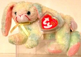 TY BEANIE BABIES 2001 COLLECTIBLE – Cottonball the Bunny – RETIRED - MWMT - $10.54