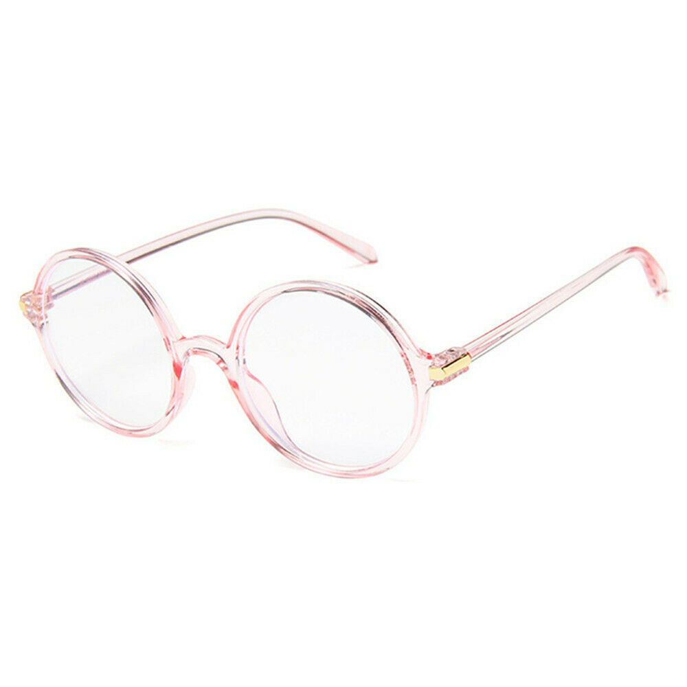 New Fashion Nerd Style Round Clear Lens Glasses Frame Retro Casual Daily Eyewear