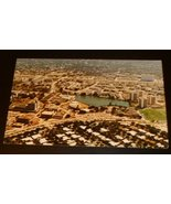 Vtg UNIVERSITY OF MIAMI Coral Gables FL aerial view Post Card POSTCARD u... - $19.99