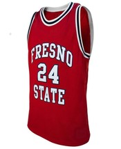 Paul George #24 College Basketball Custom Jersey Sewn Red Any Size image 4