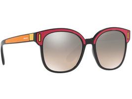 Prada 0PR 05US SVS4P0 BLACK/FUXIA/YELLOW Sunglasses Authentic - $203.70