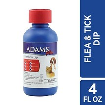 Adams Plus Pyrethrin Dip for Dogs and Cats, 4 Ounce - $13.69