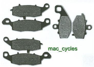 Kawasaki Disc Brake Pads ER400C 2011 Front & Rear (3 sets)