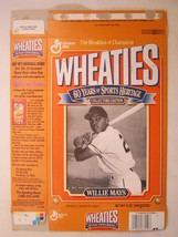 Empty Wheaties Box 1992 12oz Willie Mays Collectors Edition [Z202g2] - $3.99
