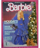 Magazine, Barbie,  Winter 1987 - $5.00