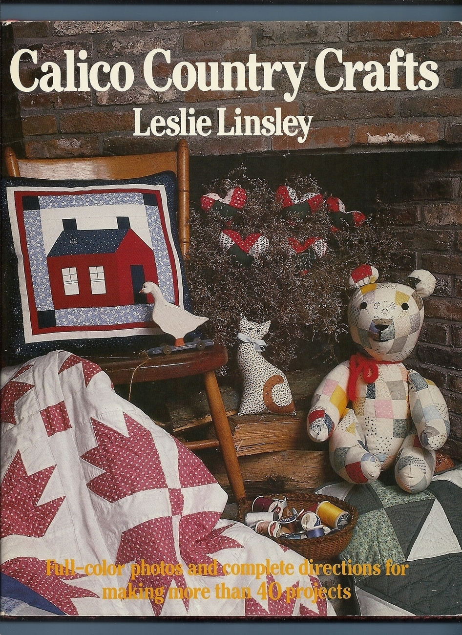 Home » Indizona » Calico Country Crafts Leslie Linsley Over 40
