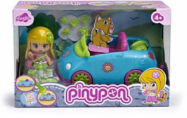 Pinypon-700010682 Pyp Figure With Car Famous 700010682 Plates Cutlery - $289.00