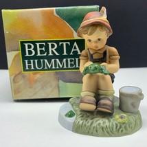Goebel MJ Hummel club figurine germany box coa 301366 slippery business ... - $63.36