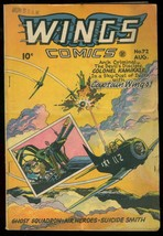WINGS COMICS #72 1946 SUICIDE SMITH COLONEL KAMIKAZE FH VG - $74.50