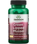 Green Lipped Mussel 500 mg 60 Caps (Perna canaliculus) - $12.99