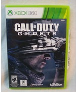 CALL OF DUTY Ghosts Microsoft Xbox 360 VIDEO GAME Complete - $14.85