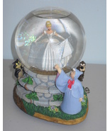 "Disney Cinderella Musical Water Globe ""Bibbidi ... - $74.99"