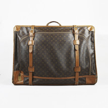 """Louis Vuitton the French Luggage Co. Brown Monogram Canvas """"Pullman"""" Sui... - $505.00"""