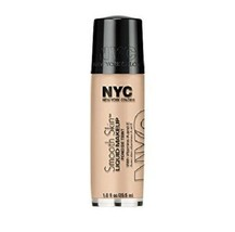 NEW NYC Smooth Skin Liquid Foundation Makeup in 677 Regular Nude (Full S... - $19.79