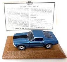 Matchbox Collectibles 1968 Mustang Cobra Jet Diecast Car New Box Limited Edition - $40.49