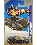 2013 Hot Wheels #151 Showroom-Asphalt Assault FERRARI 458 SPIDER Black V... - $15.00