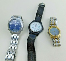 MENS WRISTWATCH LOT Waltham-Bill Blass-Milan - $14.84