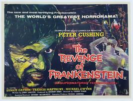 THE REVENGE OF FRANKENSTEIN (1958) - Classic Horror - Buy 2 DVD's, Get 1... - $7.49