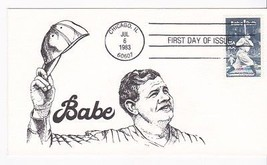 BABE RUTH #2046 CHICAGO, IL JULY 6, 1983 UNKNOWN CACHET D-1150 - ₹217.21 INR