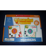 Scholastic Learning puzzles numbers Grade K-3 New - $11.88