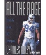 """Charles Haley Signed Book """"All The Rage"""" - $44.99"""