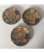 Yokoi Sei-Ichi Shoten Moriage Saucer Plate Geisha Dragonware Gold Gilt P... - $36.09