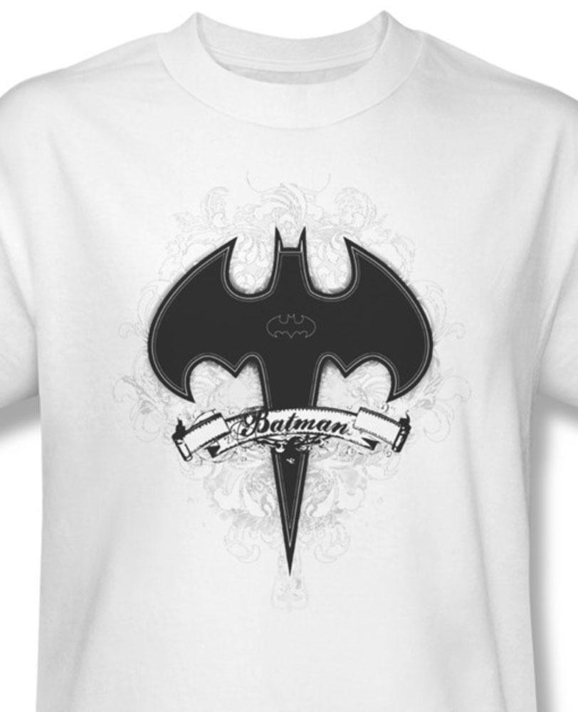 Batman logo dc comics banner superman for sale online graphic white tee bm1642 at