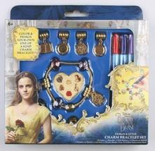 Disney Beauty And The Beast Design & Style Charm Bracelet Set NIB image 2