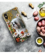 Shih Tzu Butterfly Phone Case Full Sizes - $18.99
