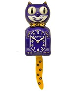 Limited Edition Purple/ Yellow Kit-Cat Klock Swarovski Crystals Jeweled - $149.95