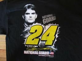 Jeff Gordon Nascar Racing National Guard T Shirt Size L - $7.99