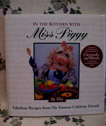 In The Kitchen with Miss Piggy Cookbook Jim Henson Collector Recipes Vin... - $14.95