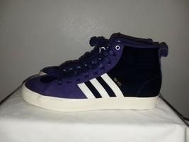 ADIDAS Na-Kel Smith Matchcourt RX Hi Top Purple Velvet Men's 10.5 Sneake... - $103.90